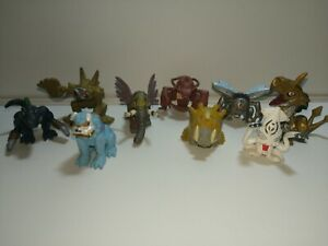 Digimon Mini Bandai Figure  Lot 9 minifigures