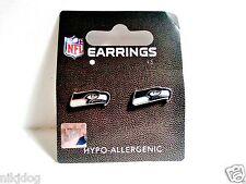 Seattle Seahawks Earrings Stud Post NFL Licensed