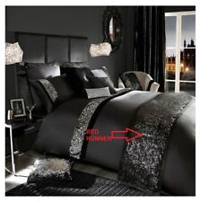 Luxurious Black Duvet Cover Set Sequin Design Egyptian Cotton Set In all Sizes