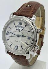 Maurice Lacroix Masterpiece Reveil Alarm 20779 Men's Automatic Steel Watch