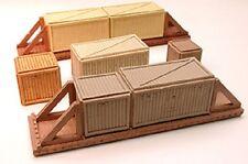 Chooch 7266 - Wood Sheathed Crate Loads (Med - HO & O scale)