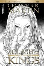 GAME OF THRONES CLASH OF KINGS #15 1:10 MILLER B&W VARIANT EB08