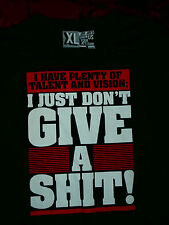 Men's Funny T-Shirt Jay Jays ' Give a ', Size XL, Wear It With Attitude