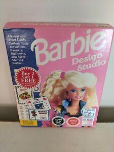 Barbie Design Studio - IBM/Tandy - 1991 - Rare find