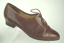 Gabor LADY Smart/Casual Low Heeled Court Shoes Brown 5 UK 7 US