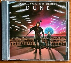 DUNE OST DAVID LYNCH MOVIE MUSIC BY TOTO BRIAN ENO EDEL 1984 EARLY PRESS CD