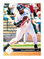 Kirby Puckett #105 (1997 Upper Deck) Baseball Card, Minnesota Twins, HOF