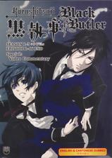 DVD ~ BLACK BUTLER Kuroshitsuji Season 1-3 + 9 OVA + Special ~ English Version