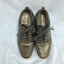 Helix Topa Men's Black Lace Up Dress Sneaker Size 11 1/2 M EUC  (S1LT)