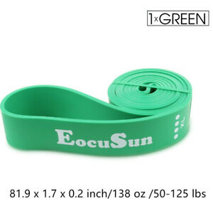 Resistance Loop Bands Yoga Stretch Strap Exercise Gym Workout Body Pull Up Band