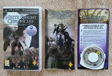 WHITE KNIGHT CHRONICLES origins PSP / complet . 1er édition / envoi gratuit !