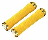 FSA Gravity Light LockOn Grips 140mm Yellow