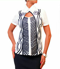Unbranded Classic Collar Formal Tops & Shirts for Women