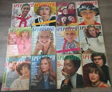 Seventeen Magazine. All 12 issues from 1972