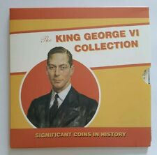 More details for the royal mint king george vi uk pre-decimal coin set collection 10 coins