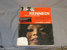 LOOK Magazine Full Vintage Issue August 24 1965 JFK Kennedy Article Part 2