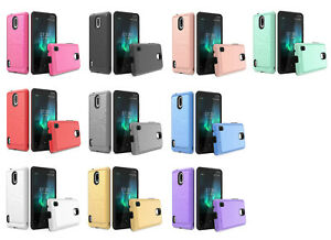 For Nokia 3.1 A / 3.1 C TA-1140 TA-1141 Slim Lining Hybrid Case Phone Cover