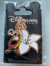 Pin Pins OE MUSHU Fleur Disneyland Paris