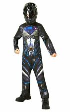 Official Rubie's Power Rangers Movie - Black Ranger Classic Childs Costume