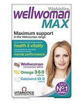 Vitabiotics Wellwoman Max - 84 Tablets/Capsules NEW