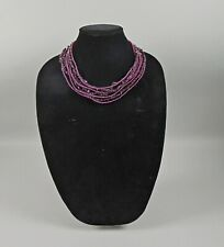 Jay King Mine Finds Sterling & Amethyst Bead Necklace DTR.925