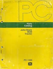 John Deere 8630 Tractor Parts Catalog