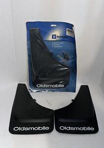 Vintage Oldsmobile G.M. Accessories Molded Plastic Mud Splash Guards 4 Piece Set
