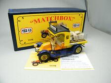 Matchbox MoY Code 2 YEX-43 Renault Steinbruch Komplettumbau blaue Box 1 von 9