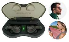 Rockville CyberBuds TWS Auriculares Auriculares Inalámbricos Bluetooth 5.0 verdadero + PowerBank