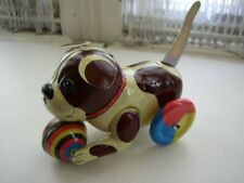 6-Inch Long,  Friction Tin Puppy Pull Toy