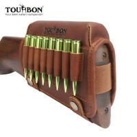 Tourbon Wangenauflage Leder Cheek Rest Linkshändig für Winchester Gewehr usw