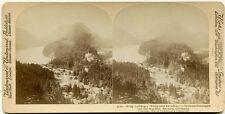 Stereofoto. König Ludwig's Blick in's Paradies,von 1898