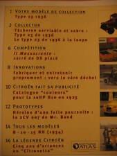 FASCICULE 82 PASSION CITROEN  type 23 de 1936
