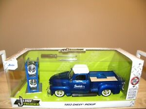 1953 CHEVY PICK PICK UP + SPARE WHEELS - JUST TRUCKS BY JADA - NEW - 1:24