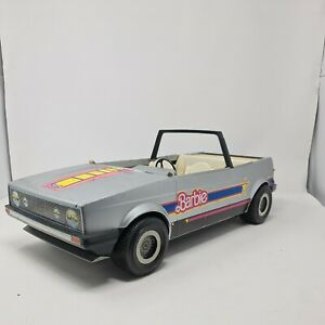Vintage Barbie VW Golf convertible 1981 Mattel For Spares Or Repair
