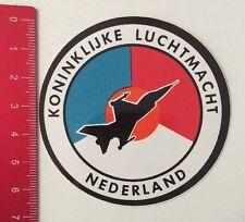 Autocollant/sticker: Koninklijke Luchtmacht Nederland (260516123)