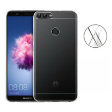 COVER Custodia Morbida TRASPARENTE GEL Silicone per Huawei P-SMART