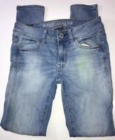 American Eagle Jeans Outfitters Super Stretch Jeggings Size 0