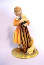 "Royal Doulton Hn 3371 #333 - Age of Innocence_ Puppy Love 1990 - 7 2/8"" H (#477)"