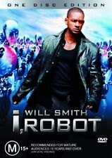 I, ROBOT DVD=WILL SMITH=REGION 4 AUSTRALIAN RELEASE=BRAND NEW AND SEALED