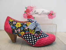 Poetic Licence Lace-up Textile Shoes for Women