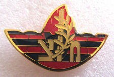 """SACHLAV"" (Orchid) company of the Military Police is a special unit Israel pin"