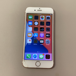 Apple iPhone 6S - 128GB - Rose Gold (Unlocked) (Read Description) CF1074
