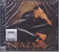 Julio Iglesias Crazy Limited Numbered Stereo Hybrid DSD SACD Audiophile CD Sony