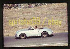 Pre-Race Chris Amon Porsche 365 - 1969 Can-Am Laguna Seca - Vtg 35mm Race Slide