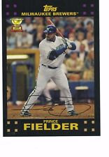"2017 Topps Update All-Rookie Cup 5""x7"" #/49 Prince Fielder Milwaukee Brewers"