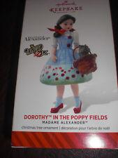 2014 HALLMARK -  DOROTHY IN THE POPPY FIELDS - WIZARD OF OZ-  NIB-  LOW PRICE!