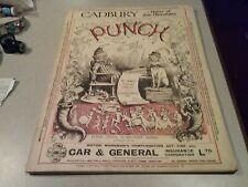 Punch Magazine KODAK CADBURY YARDLEYS ADS political cartoon Gillette DEC 12,1928