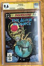 Invasion 1 Alien Alliance 1988 DC Comic Todd McFarlane CGC 9.6 Signature Series