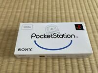 Sony PocketStation PlayStation PS White SCPH-4000 BOX and Manual Japan